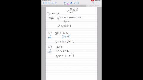Legendre polynomials - part II