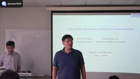 經濟系_研討講座_郭俊宏 助理教授(109.05.05)