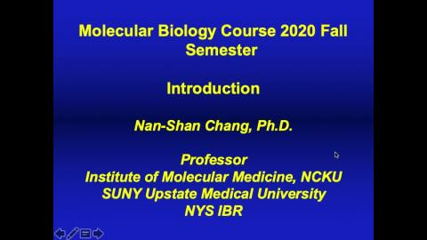 Introduction History & Diseases of Molecular Biology .mov