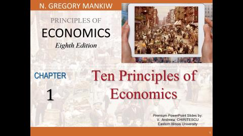 Ch 1 Ten Principles of Economics