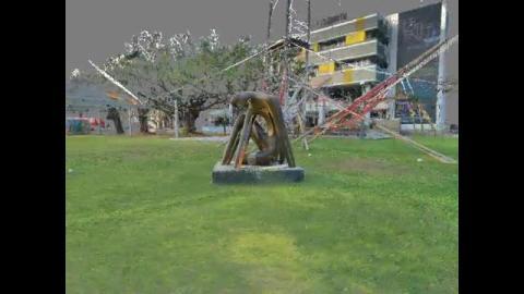 思想者 - 點雲掃描 - S-002-01