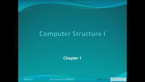 計算機概論(一)_第一章(3)