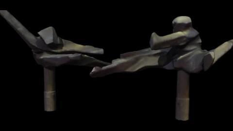 3D建模 - 飛撲