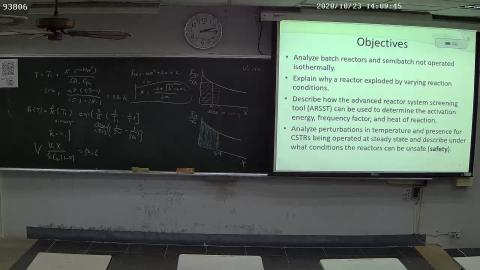 Advanced Chemical Engineering  Lecture 2020/10/23 -2