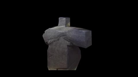 3D建模 - 十字手