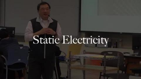 Static electricity: introduction