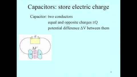 Capacitance: introduction