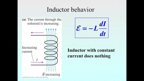 Energy stored in an inductor and magnetic energy density