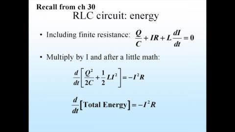 Prelude: energy flow
