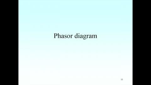 Solving the double slits problem by phasor diagram