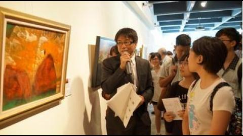 【影音】成大藝坊松永拓已個展 探索不同的人生觀