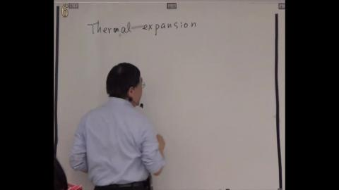Thermal expansion (I): 1D