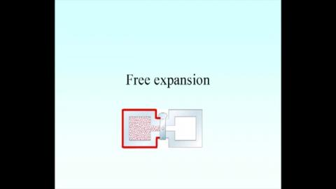 Example: free expansion