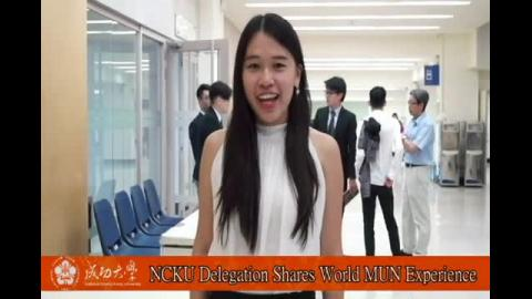 【影音】NCKU Delegation Shares World MUN Experience (外文107級黃郁文)