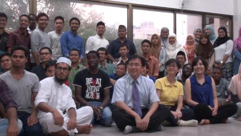 成大伊斯蘭祈禱室成立 穆斯林學生喜迎齋戒月