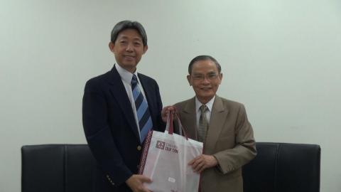越南DTU大學專訪成大  尋求合作可能性