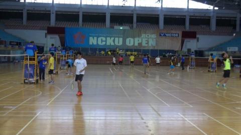 成大羽球公開賽  颱風無礙賽事圓滿完賽