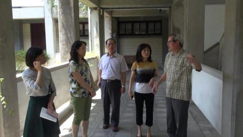 成大校長巡視華語中心  因應更多華語學習需求