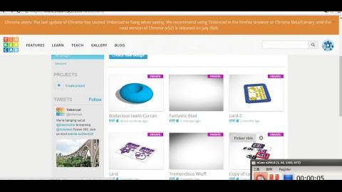 3D列印軟體Tinkercad操作介紹(學員盧欣妤分享)