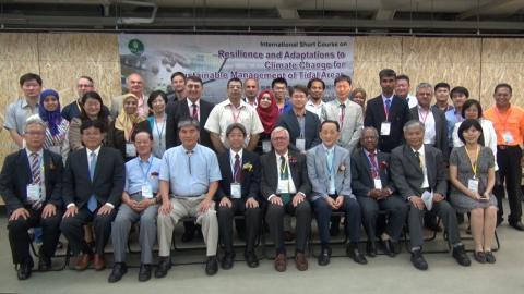 國際潮間帶委員會  首次來台開辦國際課程