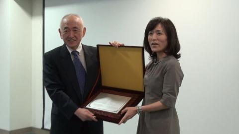 中研院鄭永齊院士 獲頒成大醫學中心首屆「林炳文講座」