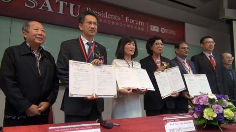 成大東南亞暨南亞五大學  國際壯遊計畫正式啟動