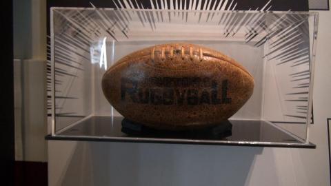 成大橄欖球隊85年回顧特展  11月博物館開展