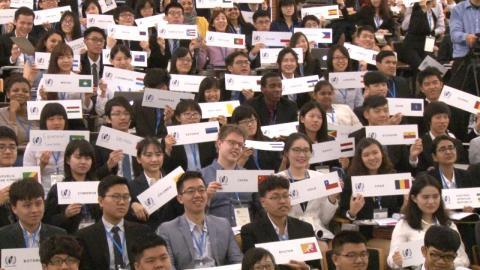 Taiwan WHO Simulation開幕 全球240醫學生齊聚成大