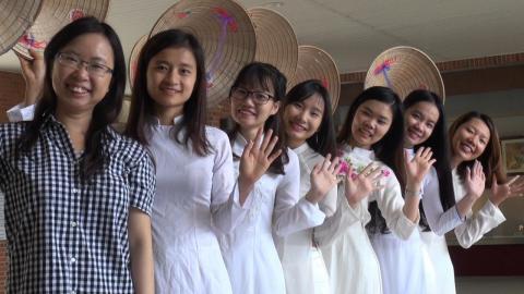 成大越南文化週  美食上菜就業諮詢