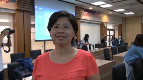 中視資深記者彭淑卿  指導成大學生主播新聞專業與技巧