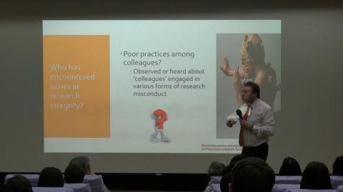 成大舉辦學術誠信與研究倫理學術研習營 反思學術倫理