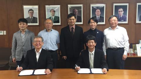 成大與日本九州大學  雙方設計學院簽署學術合作