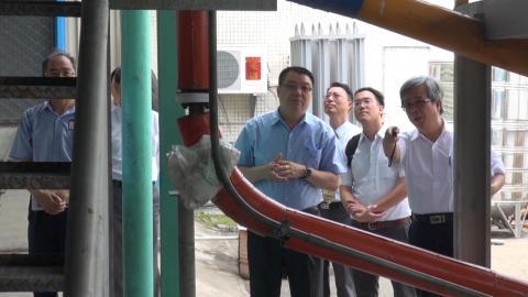 漢翔參訪成大  亟盼在航太與綠色能源合作