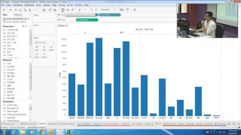 107.4.25 下午1:30~4:30「簡單上手Tableau大數據視覺化分析工具」直播網