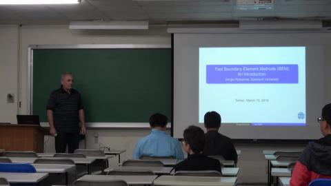 20190315 數學系專題演講 Sergej Rjasanow 教授