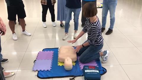 108年防護團救護班心肺復甦術CPR+AED訓練