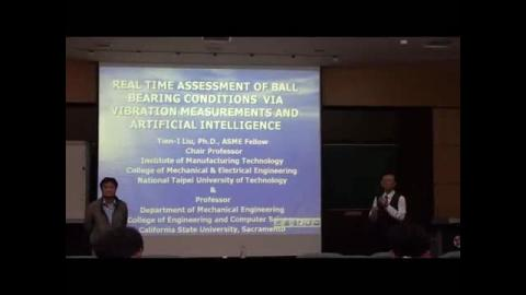 Real Time Assessment of ball bearing conditions via vibration measurements and artitical intelligence