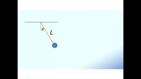 Excel玩物理 - 單擺運動