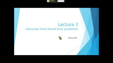 Instruction level and thread level parallelism