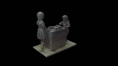 3D建模 - 午後的心願