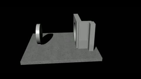 3D建模 - 東西門