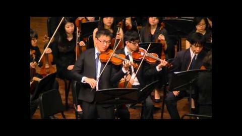 2014成大管弦冬季成發(2) 台灣民謠:夏-牛犁歌、賣肉粽、西北雨直直落
