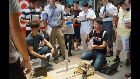 【影音】機械系舉辦機器人實作競賽 厚植創意實作能力