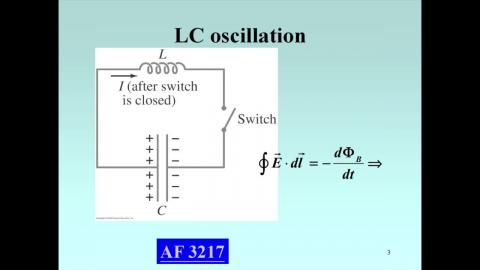 Introduction: LC oscillation