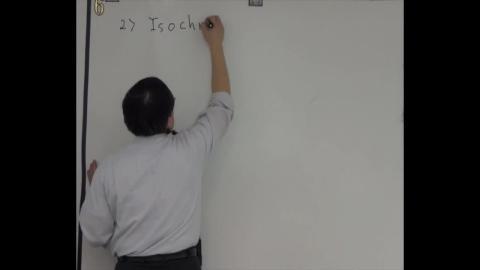 Isochoric/isovolumetric process