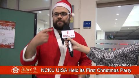 【影音】NCKU UISA held its first Christmas party