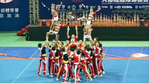 成大競技啦啦隊  全國錦標賽暨亞洲公開賽成績斐然
