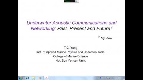 Underwater Acoustic Communications and Networking:Past,Present and Future
