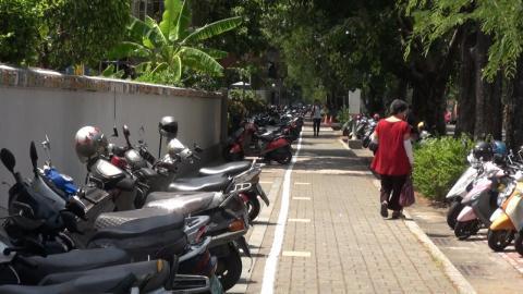 成大力行、成功兩校區  再新增600機車停車位