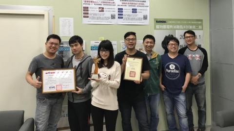 成大新創事業團隊  台灣恩寧獲經濟部新創事業雙獎